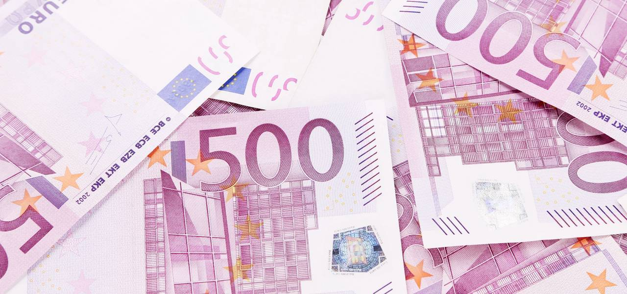 EUR/USD : figure 'Three Methods' haussière